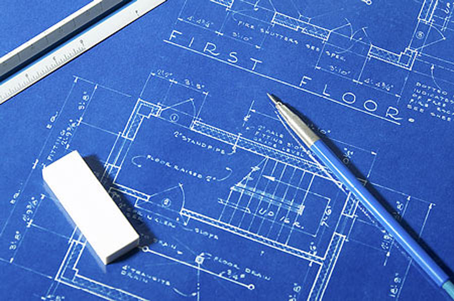 Design and architectural services for Architecture design blueprint